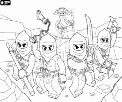 Lego Coloring Pages Printable Games