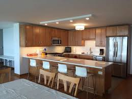 quartz countertops with oak cabinets. Perfect Oak Tranquility Quartz Countertop On Oak Cabinet In Downtown Chicago IL And Countertops With Cabinets U