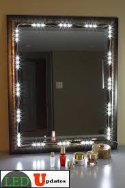 lighting for bathroom mirrors. Amazon Com MAKE UP MIRROR LED LIGHT For VANITY With Dimmer Within Vanity Mirror Lights Remodel 16 Lighting Bathroom Mirrors R