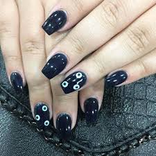 ❤ +100 BLACK NAIL ART DESIGNS 2017 - 2018 | Nail art designs & diy