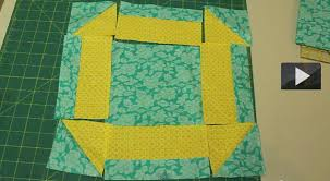 cómo coser un cuadrado de patchwork hole in the barn door quilt block muy sencillo