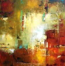 bordeaux modern art contemporary abstract painting original art elizabeth chapman