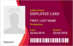100 Best Id Badge Formats For Ms Word Microsoft Word Id Card