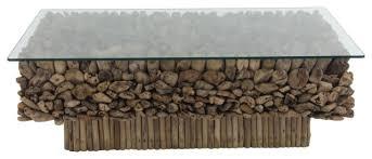 large rectangular natural driftwood
