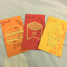 Ang Pow Design 2019 Mcdonalds 2019 Ang Pao Designs Red Packet Invitation