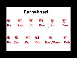 How To Write Speak Read Hindi Barakhadi Ka Kaa Ki Kee