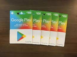 how much is 100 google play gift card