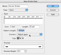 adding strokes to just the corners of a