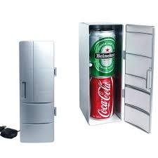 office mini refrigerator. USB New Generation Mini Fridge Office Table Cool And Heating 5V 9cm*12cm* Refrigerator L
