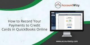 credit cards in quickbooks
