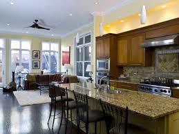 kitchen family room idea