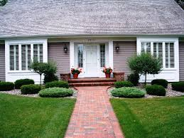 Simple Landscaping Ideas For Front Yard Themed Cool Landscape Design Of  About House On Pinterest Modern
