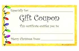 Free Printable Gift Certificate Template Word Blank Gift Certificates Template Chanceinc Co