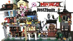 I just2built LEGO Ninjago City Docks... finally! - YouTube