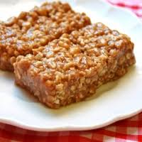 chewy peanut butter bars. Wonderful Bars With Chewy Peanut Butter Bars P