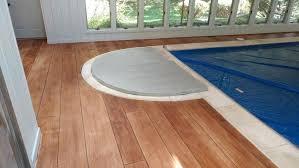 wood pool deck rustic concrete wood pool deck wood pool deck cost per square foot wood pool deck