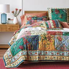 Lakeside Patchwork Quilt | The Company Store & Lakeside Quilt / Sham Adamdwight.com