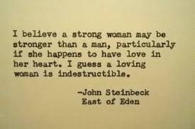 John Steinbeck Quotes Adorable JOHN STEINBECK East Of Eden Quote Made On Typewriter Strong Woman