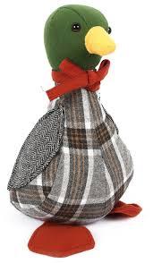 Take Me Home Plush Penguin Doorstop ~ Decorative Door Stop Brown ...
