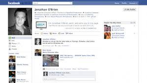 example facebook profile. Beautiful Facebook 18 Jonathan Ou0027Brien On Example Facebook Profile Inspirationfeed