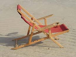 folding beach chair dimensions