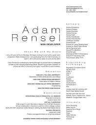 Clean Resume By Christamr On Deviantart