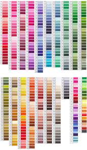 That's why we created this awesome colored spreadsheet of all standard, metallic, variations, variegated, coloris and étoile 6 strand dmc threads, so you can keep track. Dmc Color Chart Dmc Embroidery Floss Dmc Floss Chart Embroidery Floss