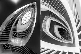 architectural detail photography.  Architectural Yin And Yang  Diptych Of Architectural Detail Shots The Staircase In  Chicago Museum And Architectural Detail Photography H
