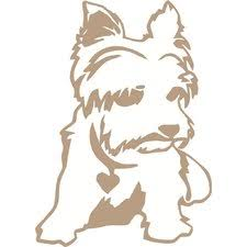 Small Picture Compare Yorkie Wall Decal by Design With Vinyl Top Review
