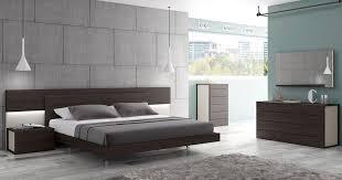 bedroom modern lighting. Portugal Made Wenge Bedroom Room Set With Lighting In Headboard Modern A