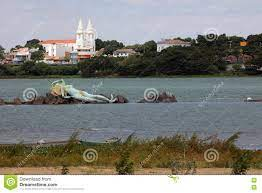 Mermaid And Skyline Of Petrolina And Juazeiro In Brazil Editorial Image -  Image of landscape, bahia: 82205815