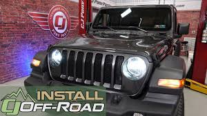 Jeep Jl Led Lights 2018 2020 Jeep Wrangler Jl Oracle Lighting Headlight Bulb Led H13 Conversion Kit 6500k Installation