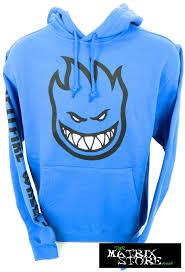 spitfire clothing. spitfire bighead fill skateboard hoodie - royal blue spitfire clothing o