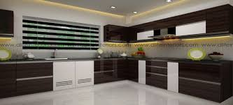 Indian Modular Kitchen Design L Shape Biege L Shaped Modular Kitchen Design By Dlife