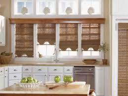 kitchen window roller blinds