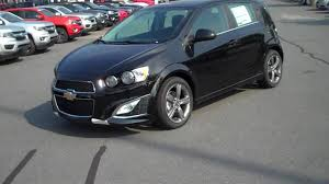2016 Chevrolet Sonic Hatchback RS Black, Burns Cadillac Chevrolet ...