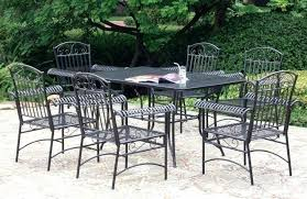 wrought iron outdoor furniture. White Wrought Iron Furniture Medium Size Of Garden Seats Vintage Cast Patio Dining Sets Outdoor E