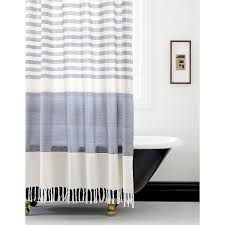 A pop of personality. Shop CB2 for modern, unique shower curtains ...