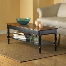 country look furniture. FRENCH COUNTRY ELEGANCE TWO TONE CHERRY BLACK COFFEE COCKTAIL TABLE Furniture Country Look S