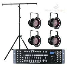 portable stage lighting kit led uk professional package lights hire