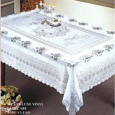 vinyl lace tablecloth vinyl lace tablecloth battenberg vinyl lace tablecloth 70 round
