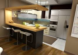 Bar For Kitchen Small Kitchen Bar Home Design And Decorating