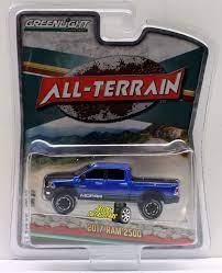 1 64 Greenlight All Terrain Series 4 2017 Ram 2500 Greenlight Dodge Diecast Cars Hot Wheels Cars Farm Toys