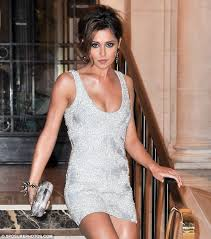 sparkling beauty cheryl cole exits her hotel in paris to head out to the az