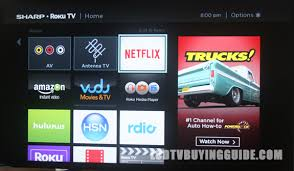 sharp 32 roku tv. sharp n4000 roku tv with 1080p resolution 32 tv