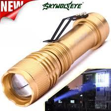 6000LM Q5 AA/14500 3 Chế Độ Phóng To LED Đèn Pin Đèn Pin Siêu Sáng Biến Tập  Trung Chống Nước Nhôm Hợp Kim Đèn Pin # n6 Outdoor Tools
