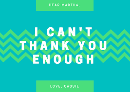 Electronic Thank You Card Free Design A Custom Thank You Card Canva