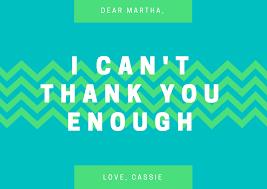 Design A Custom Thank You Card