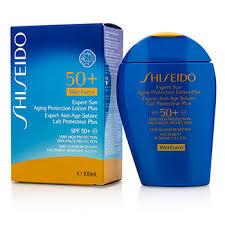 Wetforce 4oz Face amp; Plus For Expert Aging 50 Sun 100ml Spf Body Protection ชิเซโด้ 3 Lotion
