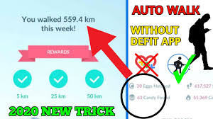 How to AutoWalk in Pokemon go 2020 ||Without DEFIT app 2020 New Trick -  YouTube